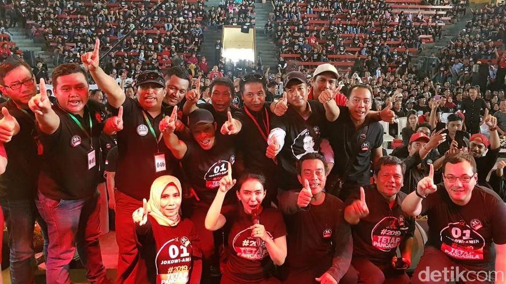 Tim Alpha Deklarasi Dukungan Siap Menangkan Jokowi di Jateng