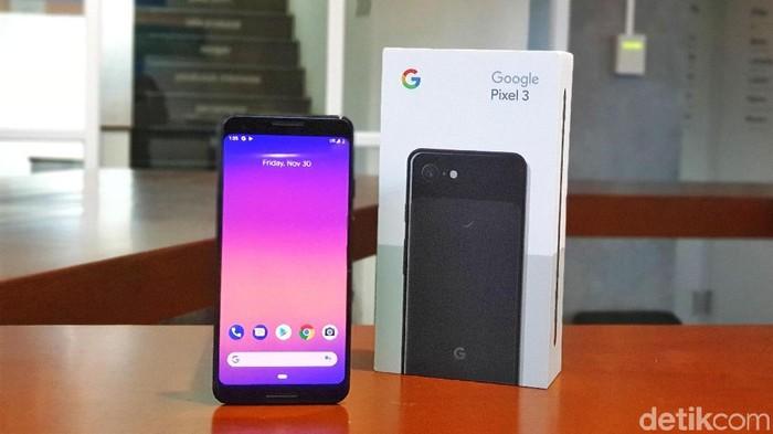 Google Pixel 3. Foto: Adi Fida Rahman/detikINET