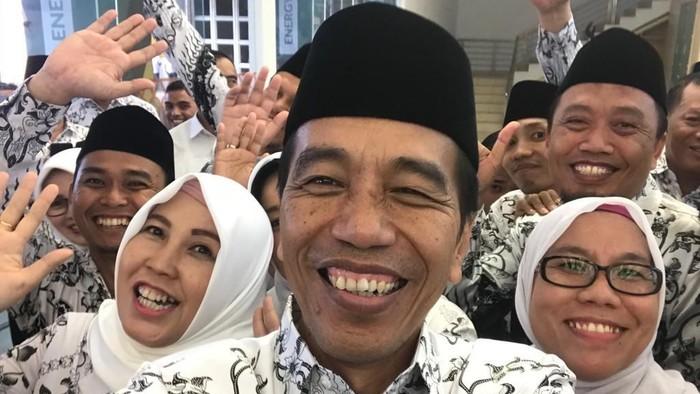 Jokowi akan Undang PGRI ke Istana Bahas Nasib Guru