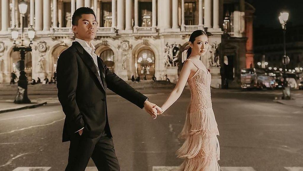 Pasangan Crazy Rich Surabayan Menikah Diiringi Tarian Bali