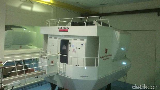 Gedung Simulator Lion Air.