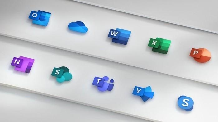 Ikon baru Microsoft Office. Foto: Microsoft