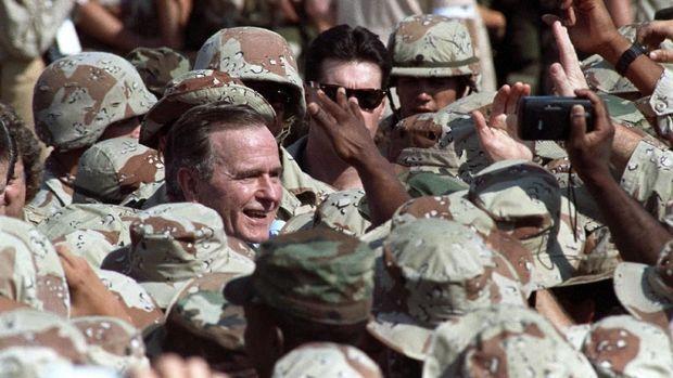 George H.W Bush, 'Teman Lama' China di Gedung Putih