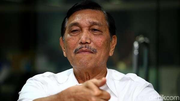 Tak Muncul di Pertemuan Jokowi-Prabowo dan Mega-Prabowo, Ini Kata Luhut