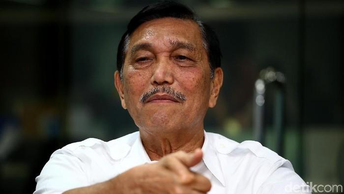 Menteri Koordinator Bidang Kemaritiman Luhut Binsar Pandjaitan. (Foto: Muhammad Ridho)