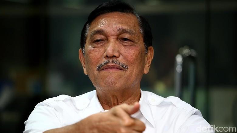 Luhut Yakin Jokowi Menang Pilpres Lagi