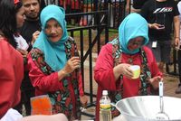 Serunya Lomba Masak Rendang dan Cicipi Kuliner Minang di 'Nusantara Marandang'