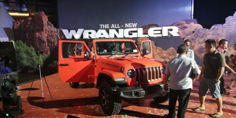 All New Jeep Wrangler Foto: Rizki Pratama