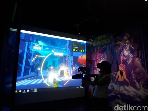 Terdapat 3 zona di Headrock VR. Masing-masing menawarkan sensasi tersendiri (Afif Farhan/detikTravel)