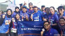 Hobi Lari, Ibnu Jamil Ambil Bagian di BRI RUN 2018 Solo Series