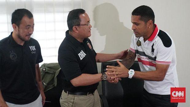 Beto Goncalves ingin menghormati kontrak bersama Sriwijaya FC.