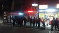 Polisi Siaga di Lokasi Bekas Bentrokan Geng Motor di Cimahi