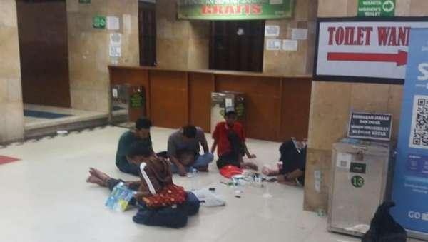 Masih Ada Peserta Reuni 212 di Masjid Istiqlal