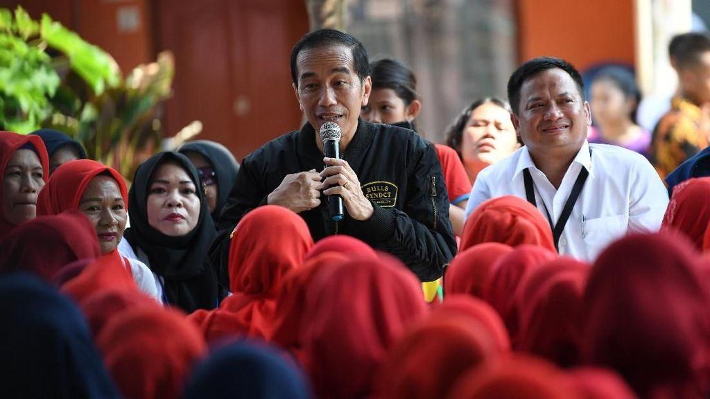 Presiden Jokowi Janji Suntikan Modal Usaha UMKM