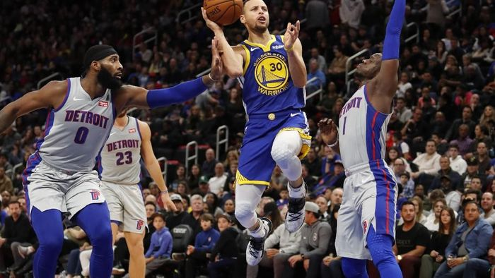 Golden State Warriors kalah meski Stephen Curry sudah kembali (Raj Mehta-USA TODAY Sports)