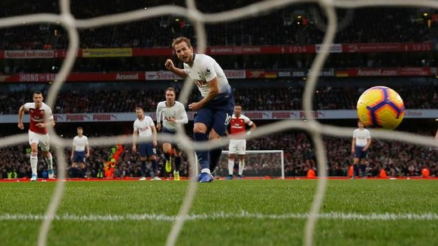 Tottenham Hotspur gagal mempertahankan keunggulan 2-1 di babak pertama.