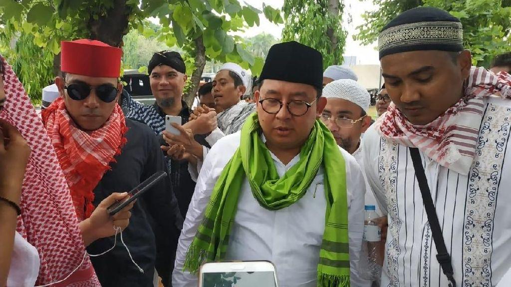 Fadli soal Pemeriksaan Rekaman di 212: Habib Rizieq Bukan Timses