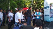 Ada Reuni 212 di Jakarta, Jokowi Nyetrum Warga di Bogor