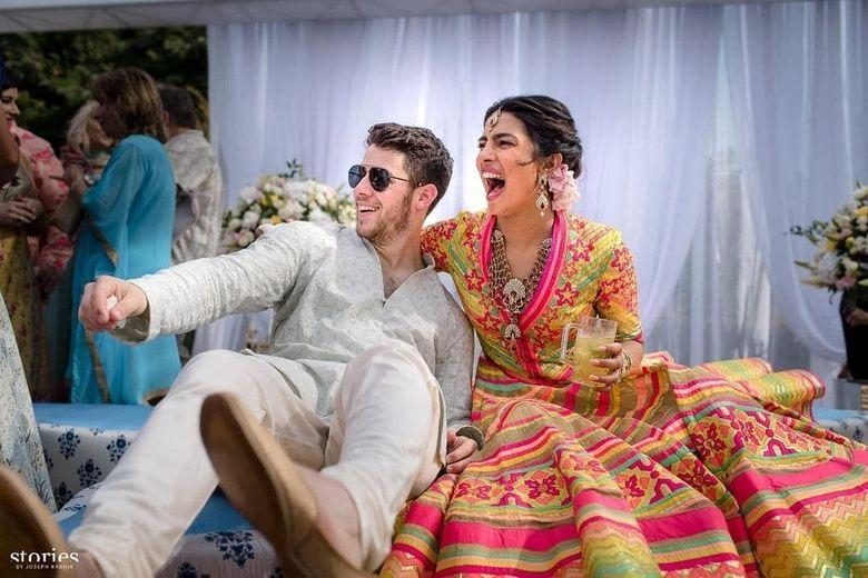 Priyanka Chopra dan Nick Jonas dinikahkan oleh sang ayah, Paul Kevin Jonas. Foto: (dok. Instagram Priyanka)