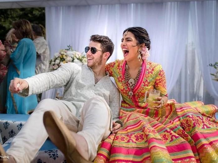 Foto: Priyanka Chopra dan Nick Jonas (dok. Instagram Priyanka)