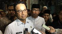Anies Minta Depo MRT Kampung Bandan Dipindah ke Stadion BMW