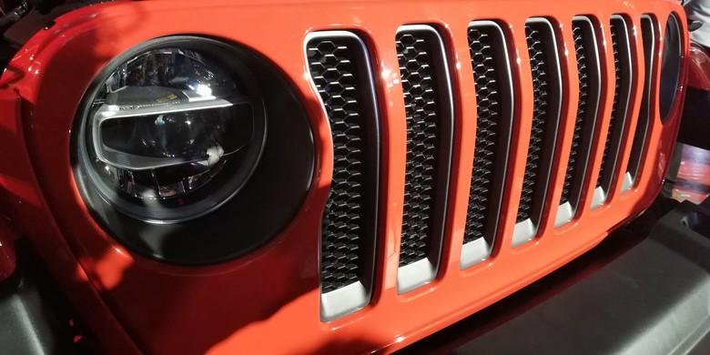 Mobil Amerika Jeep. Foto: Rizki Pratama