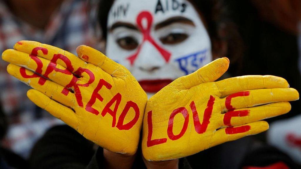 Foto: Peringatan Hari AIDS Sedunia di Berbagai Penjuru Dunia