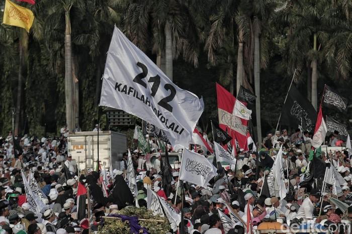 Massa Reuni 212 (Pradita Utama/detikcom)