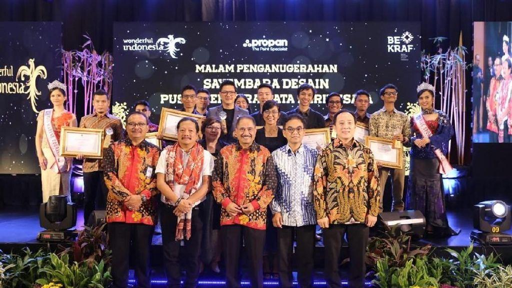 17 Destinasi Wisata Raih Penghargaan ISTA 2018 dari Kemenpar