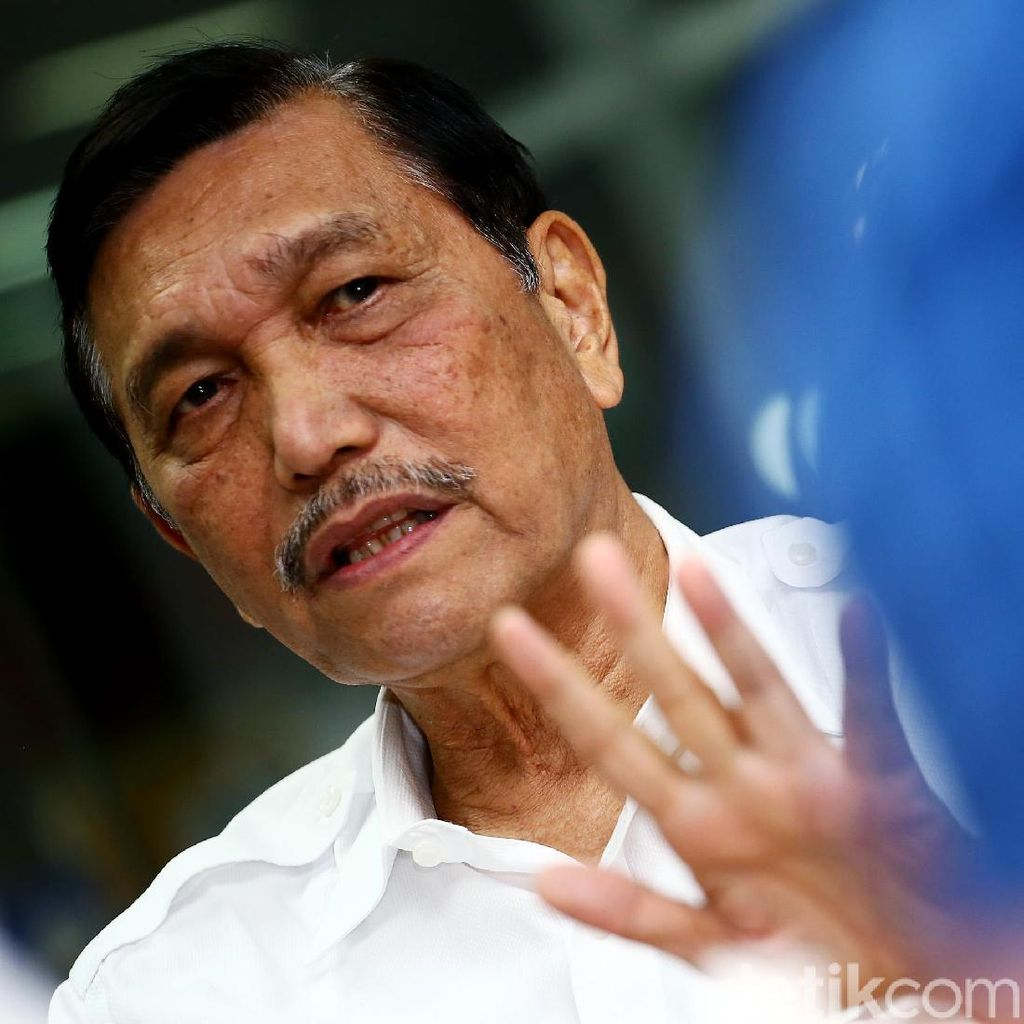 Jokowi Vs Prabowo Kian Tipis Versi Median, Luhut: di Kami Masih Beda 20%