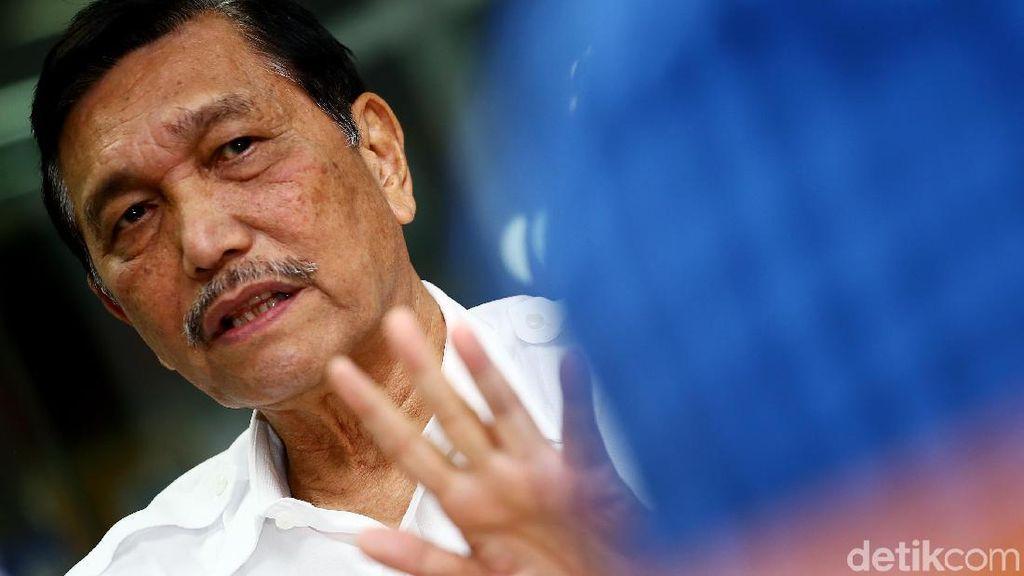 Luhut ke Prabowo: Kalau ke Publik Harus Mendidik, Jangan Bohong!