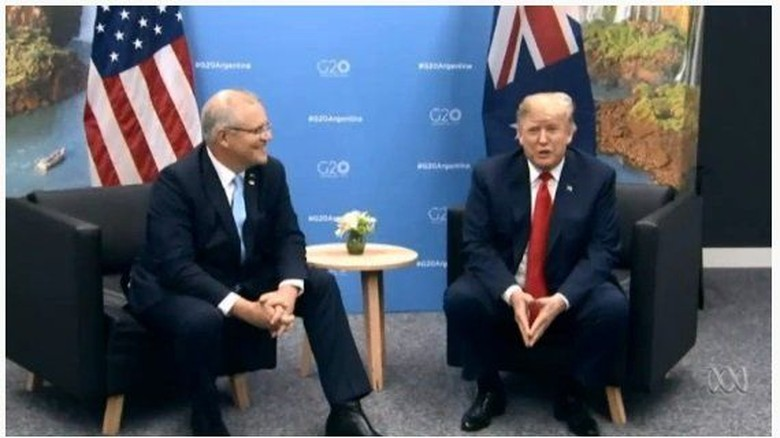 PM Scott Morrison Bertemu Presiden AS Donald Trump