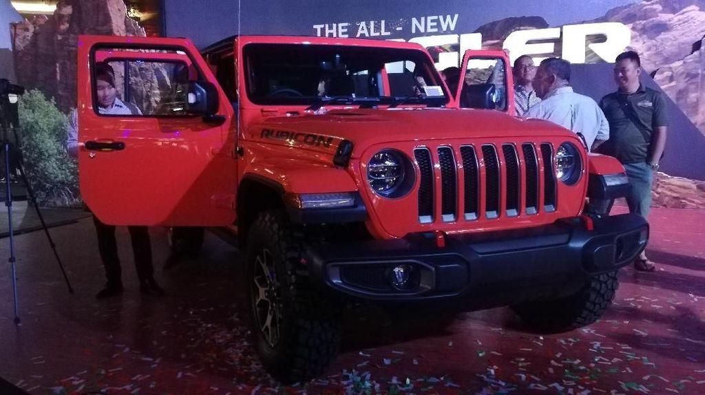 Waduh, Uji Tes Tabrak Jeep Wrangler Cuma Dapat Bintang Satu
