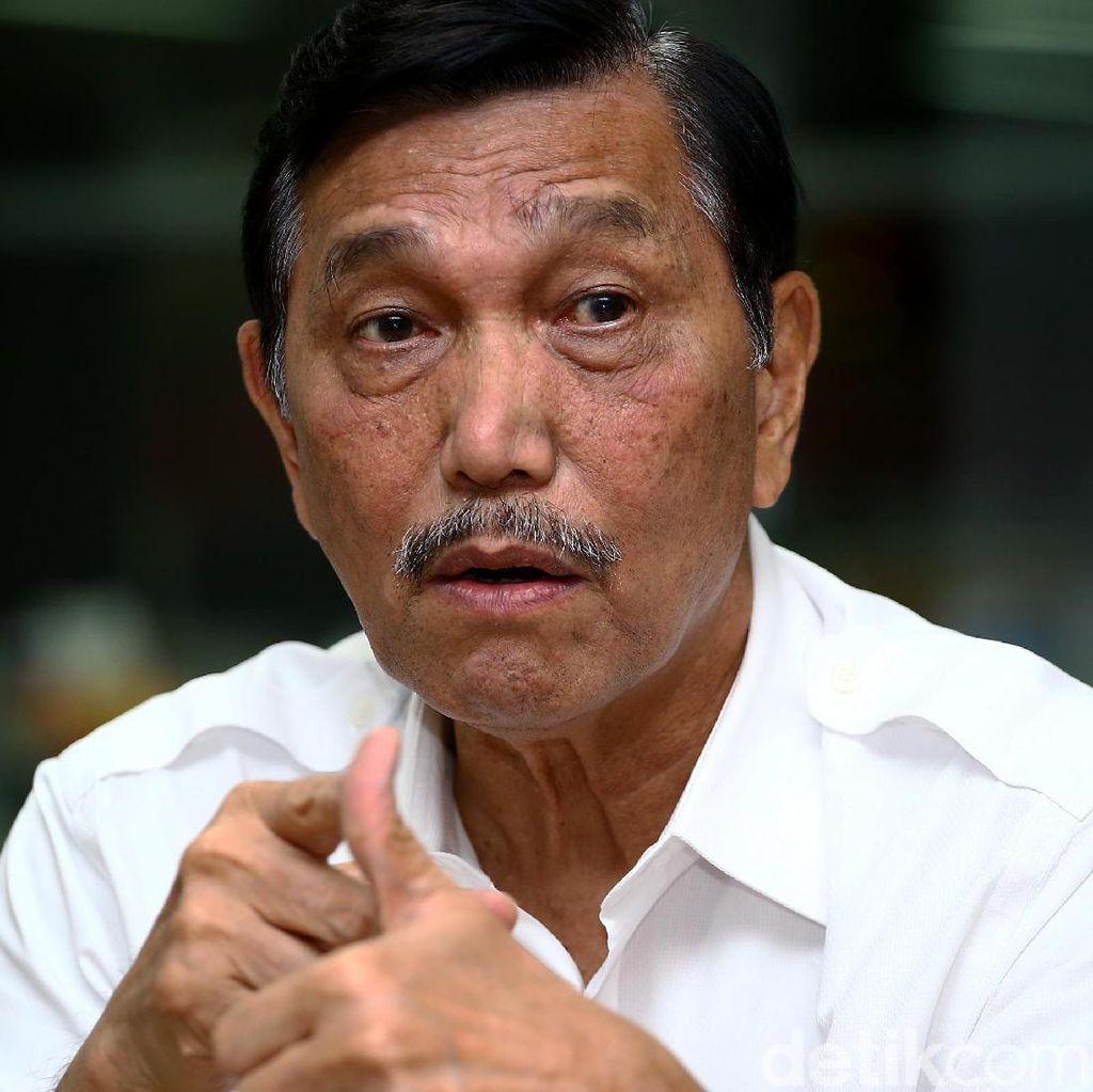 Luhut: Saya Tak Pernah Bilang Siap Cium Kaki Prabowo Jika Jadi Presiden