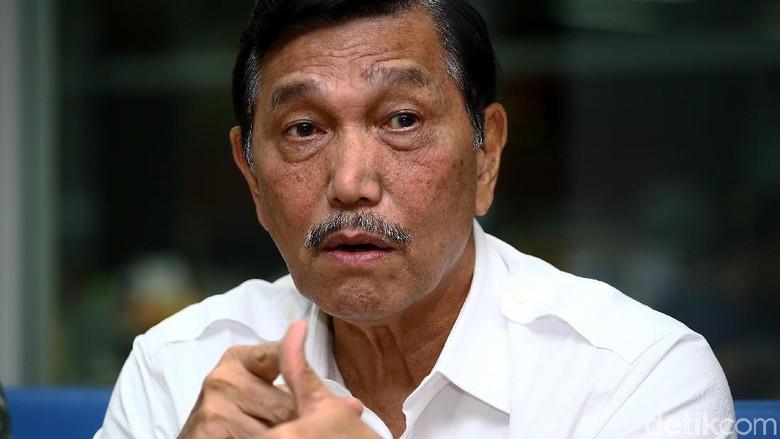 Luhut ke Rekan Purnawirawan: Jokowi dari Sipil, Tapi Kerja dengan Hati