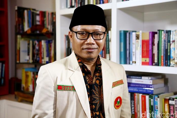Ketum PP Pemuda Muhammadiyah Sunanto (Muhammad Ridho/detikcom)