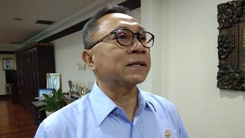 Zulkifli Hasan Disoraki Huuu di HUT PDIP