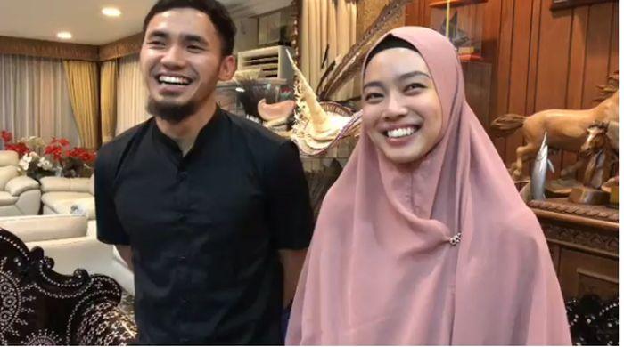 5 Kisah Cinta Lindswell Kwok dan Achmad Hulaefi (Foto: Instagram Imam Nahrawi)