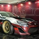 Raja Modifikasi di IAM 2018, Toyota 86 Berjantung Corvette