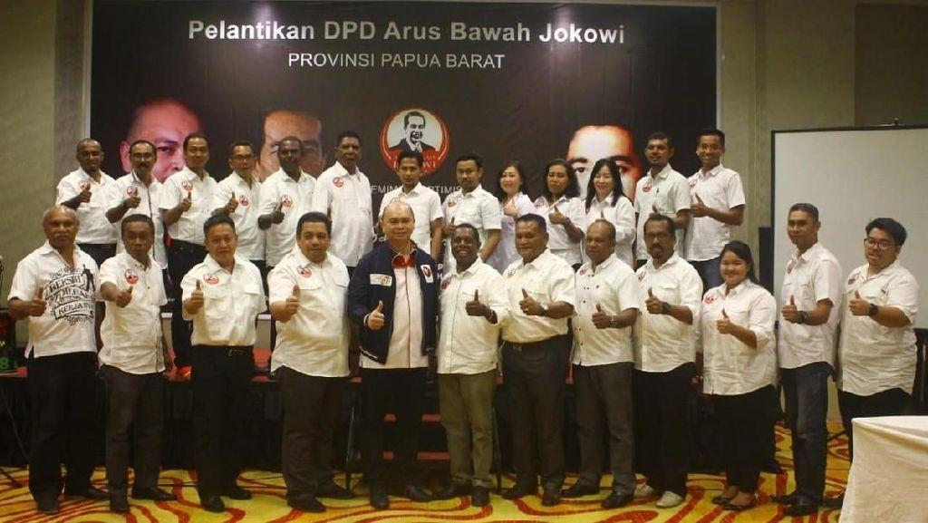Relawan Yakin Jokowi-Maruf Menang Telak di Papua Barat