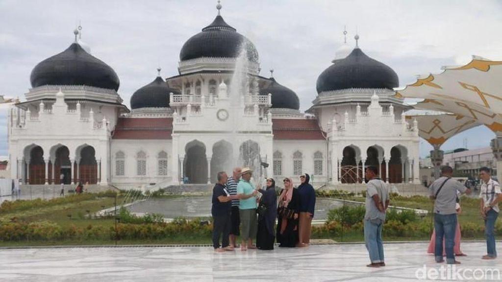 Oktober 2018, Kunjungan Wisman ke Aceh Didominasi Turis Malaysia