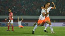 Persija Rajai Klasemen Usai Tundukkan Bali United