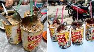 Lagi Hits! Kopi Peng Disajikan di Kaleng Susu Kental Manis