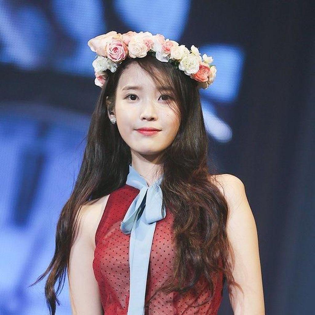Berhati Malaikat, Artis K-Pop IU Habiskan Rp 210 Juta untuk Penggemarnya
