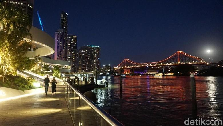 Stone Bridge di Brisbane, Australia (Melisa/detikTravel)