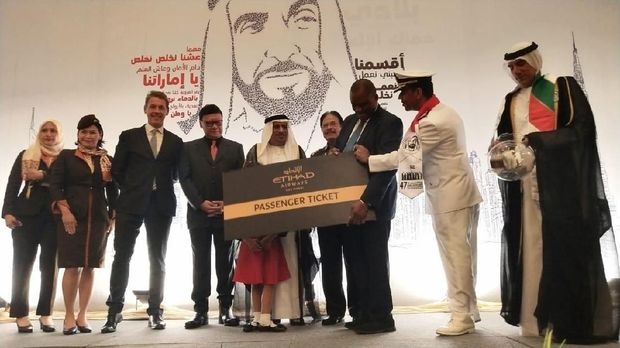 Mendagri dan Menteri ATR Hadiri Ulang Tahun Uni Emirates Arab di Jakarta