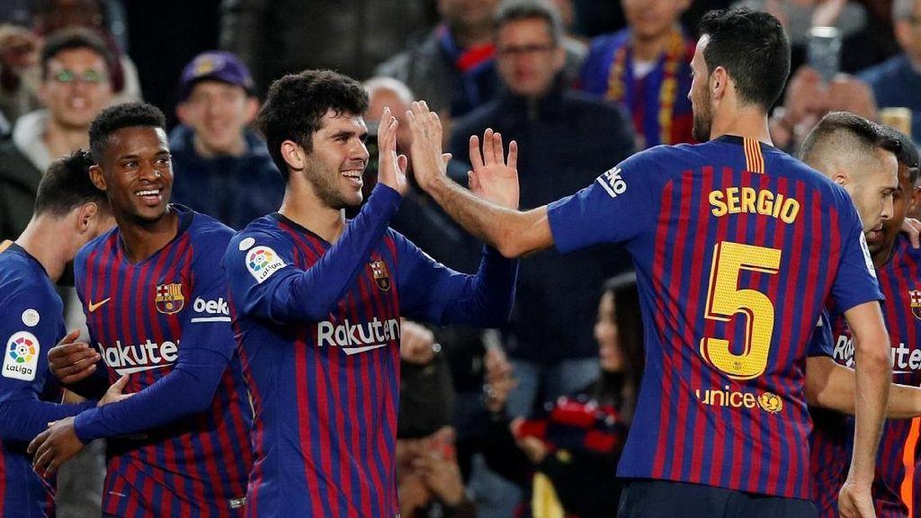 Hasil Liga Spanyol: Barcelona Kembali Puncaki Klasemen