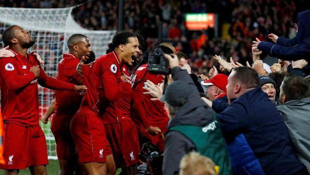 Liverpool kalahkan Everton lewat gol telat Divock Origi.