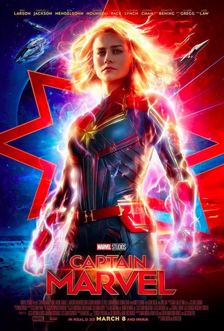 poster anyar 'captain marvel' disebut mirip kisah 'dragon ball'