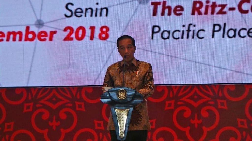 Bertemu dengan Para CEO, Jokowi: Setop Ekspor Bahan Mentah!